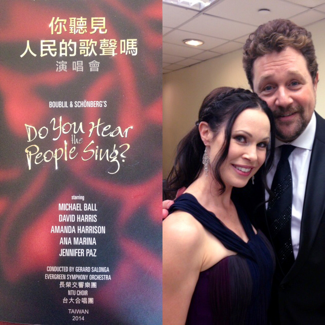 Ana Marina and Michael Ball
