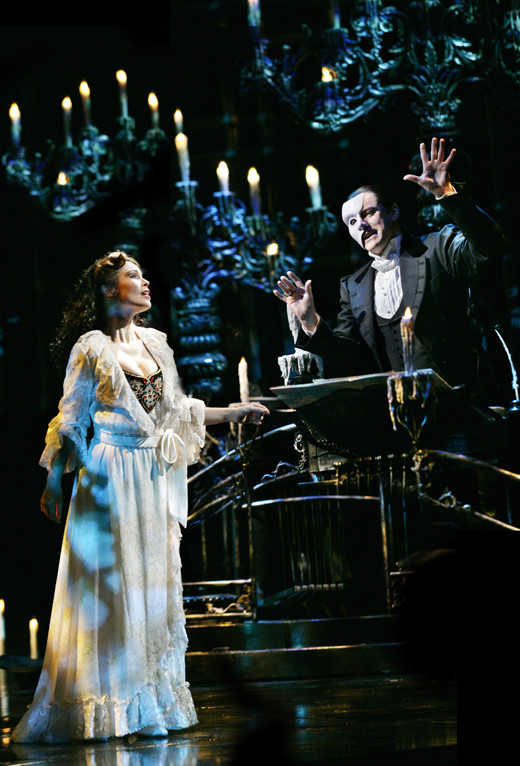 PHANTOM OF THE OPERA - Photo by Jeff Busby